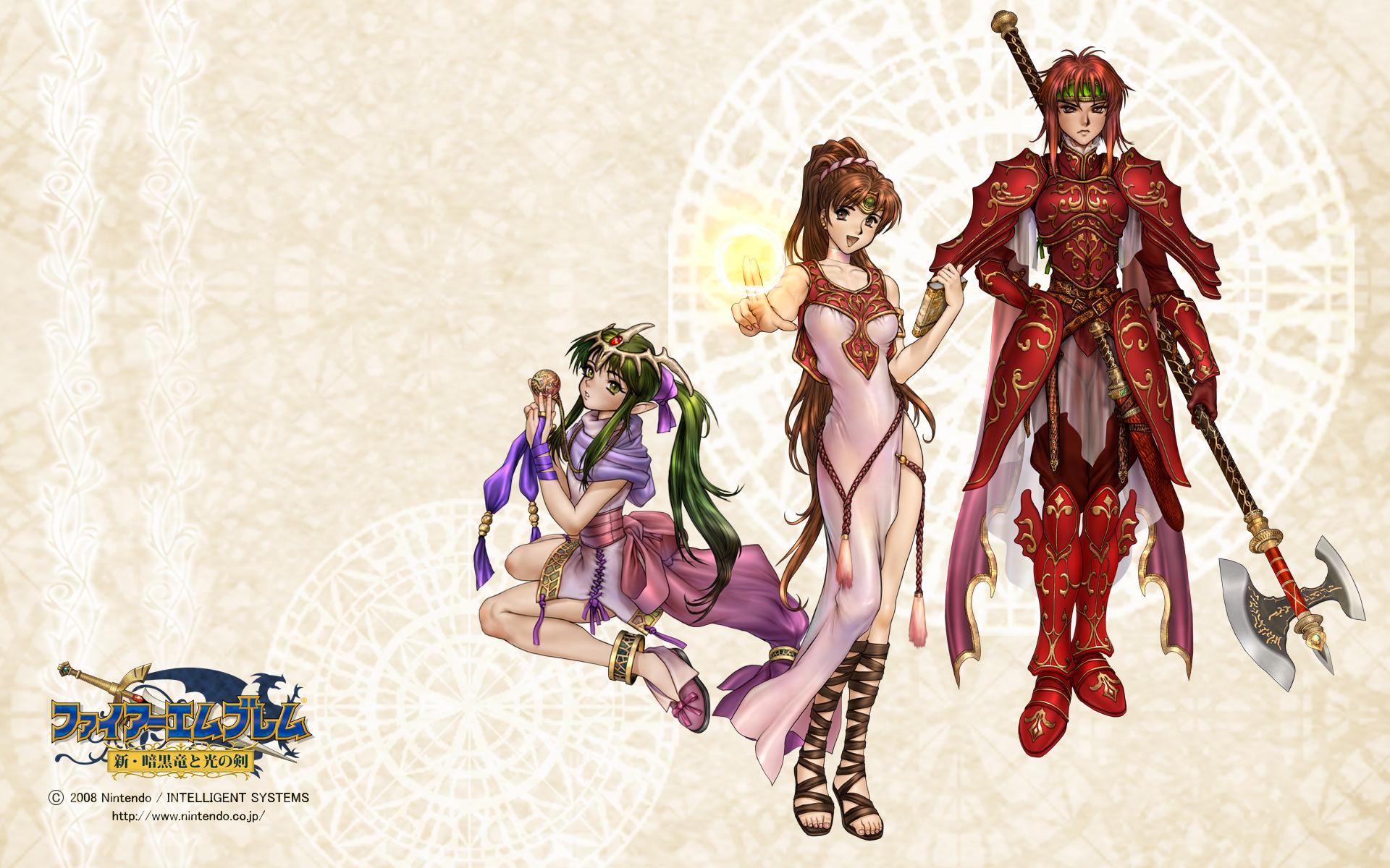 Fire Emblem Shadow Dragon Wallpapers Multimedia Tanas Manor