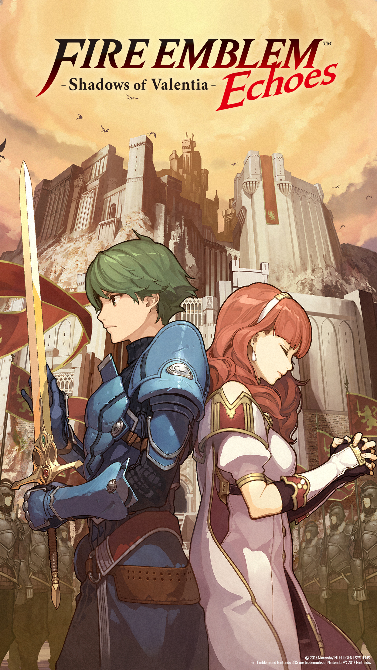 Fire Emblem Echoes Shadows Of Valentia Wallpapers Multimedia